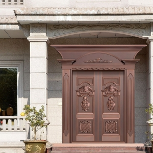 别墅户型大门