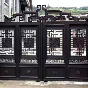 铸铝别墅门