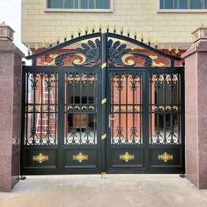 院墙铸铝门