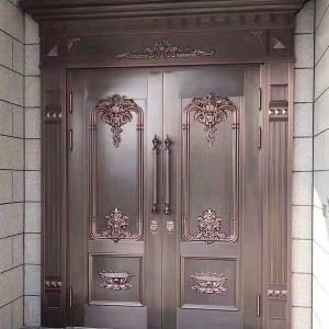 双开铜门定制