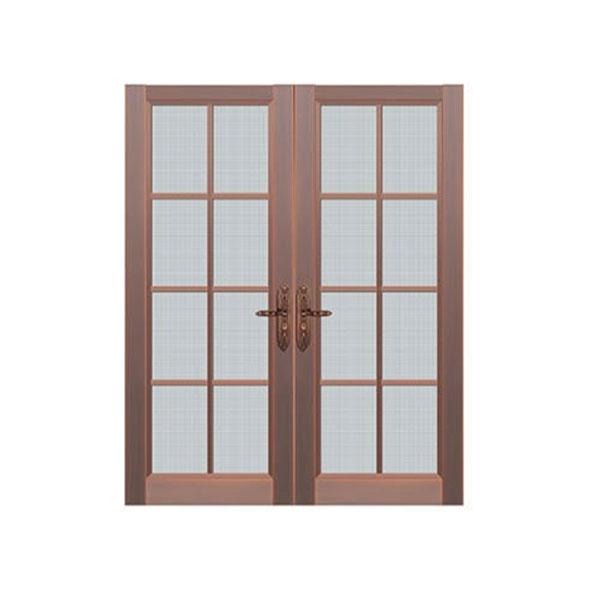 玻璃铜门安装