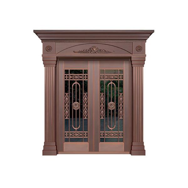 玻璃铜门价格