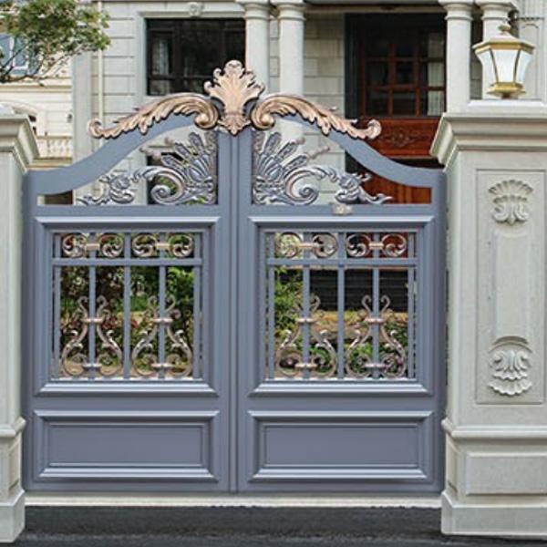 户外院墙铝门