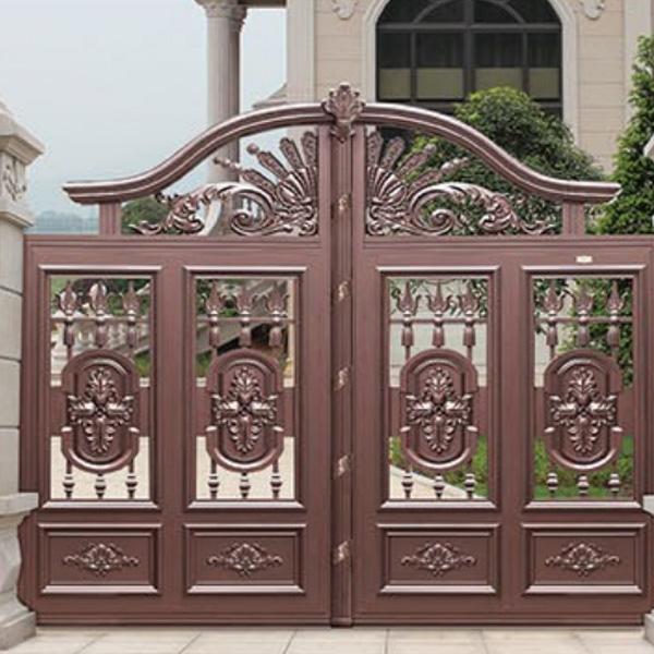 铸铝别墅庭院门