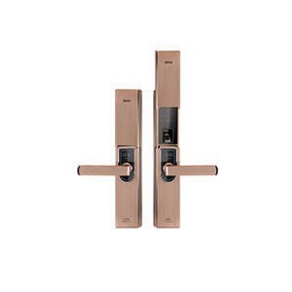 别墅大门铜锁
