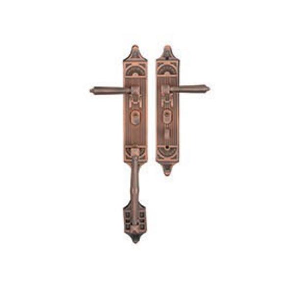 中式铜门锁