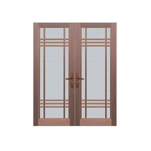 欧式玻璃铜门