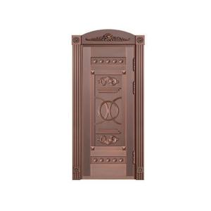 单铜门尺寸