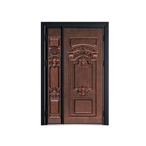高档单铜门