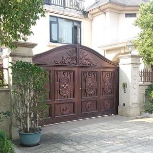 庭院铸铝门定制
