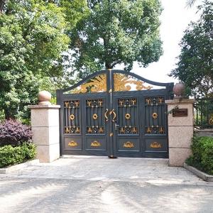 赣州庭院铸铝门