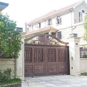 庭院铸铝门