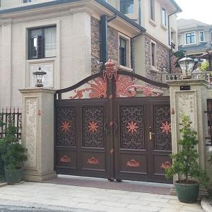 庭院铜门定制